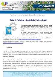 Rede de Policiais e Sociedade Civil no Brasil