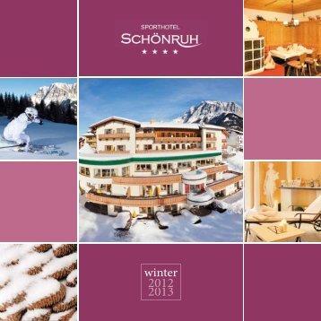 neu! ab Wintersaison 2012/13 nEuEröFFnunG Tirolerhaus
