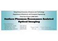 Surface Plasmon Resonance Assisted Optical Imaging
