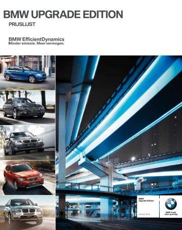 BMW UPGRADE EDITION - BMW.com