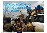 UNICEFs julkampanj frii [Kompatibilitetsmodus] - Stiftelsen Soria Moria