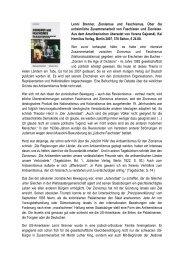 Lenni Brenner, Zionismus und Faschismus. Über ... - Ludwig Watzal