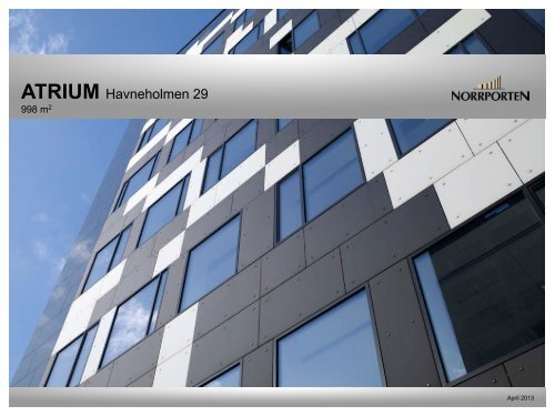 ATRIUM Havneholmen 29 - Norrporten