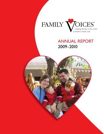 ANNUAL REPORT 2009-2010 - Family Voices
