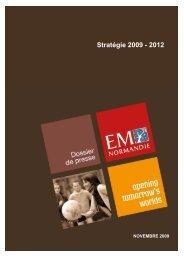 Stratégie 2009 - 2012 - EM Normandie