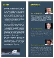 Programm der Jahrestagung 2012 - Wilhelm-Reich-Gesellschaft