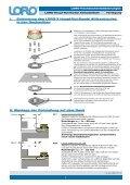 Verlegeanleitung LORO-X Haupt-Not-Kombi Attikaentwässerung - Seite 2