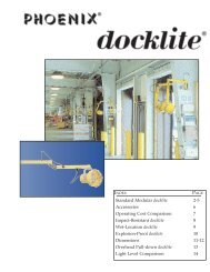 Standard Modular docklite 2-5 Accessories 6 ... - Phoenix Products