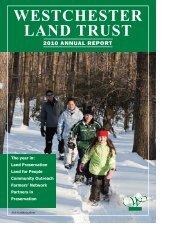 Layout 2010:Layout 1.qxd - Westchester Land Trust