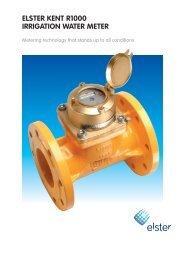 Elster Kent Bulk Irrigation Meter Brochure - Incledon