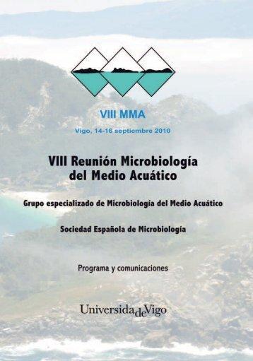 VII Reunión Científica. Vigo 2010
