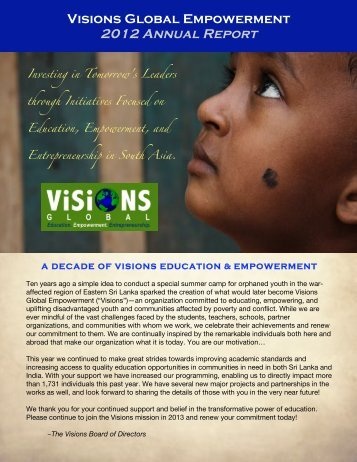 Visions-2012-Annual-Report