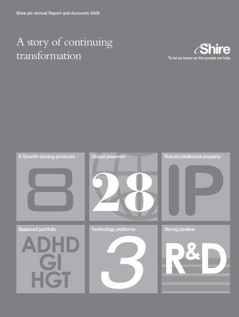 7817 Annual Report 2009.qxd - Shire
