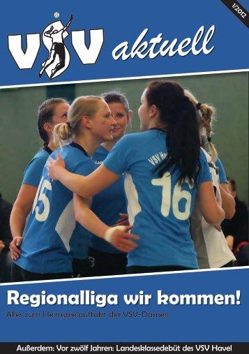 VSV Aktuell 1/2012 - VSV Havel Oranienburg