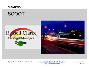 Russell Clarke - Traffic Signal Systems Committee