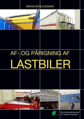 Af- og pårigning af lastbiler - BAR transport og engros