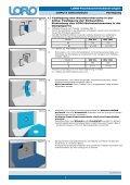 Verlegeanleitung LORO-X Attikaabläufe - Seite 2