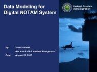 Data Modeling for Digital NOTAMs - NFDC