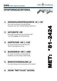 Oproepkaartje UMC St. Radboud - VMS