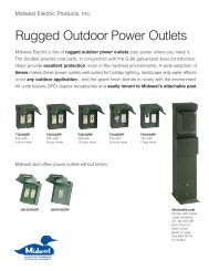 Rugged Outdoor Power Outlets - Theovine