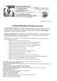 Sprawozdanie merytoryczne za 2010 rok - Fundacja Zmieńmy Świat ...