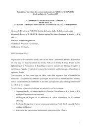 1 Séminaire d'ouverture des sessions nationales de l'IHEDN et de l ...