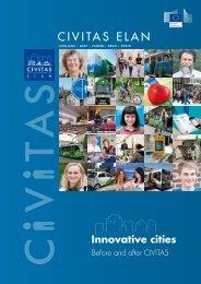 CIVITAS ELAN final brochure (pdf) - Ljubljana