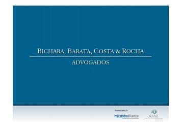 Íntegra da apresentação do Dr. Luiz Gustavo Bichara