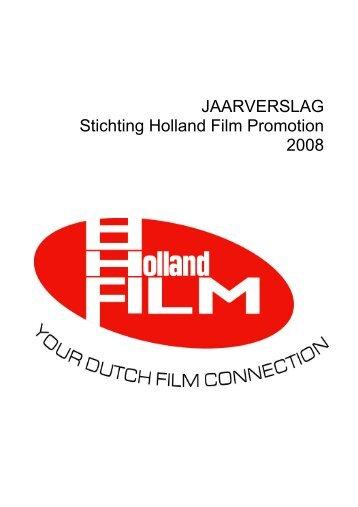 Jaarverslag Holland Film 2008 - Eye