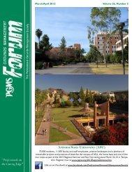 Arizona State University (ASU) - PGMS