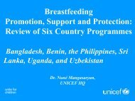 Communities - World Breastfeeding Conference
