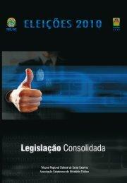 Íntegra para download - Tribunal Regional Eleitoral de Santa Catarina