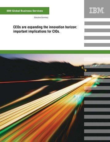 IBM CEO / CIO Study - American Business Media