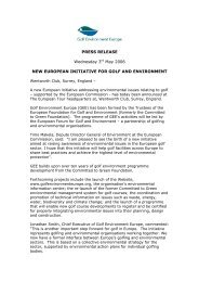 PRESS RELEASE Wednesday 3rd May 2006 NEW EUROPEAN ...