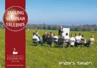 Preisliste Tagungen 2012 - Hotel Schwanen in Kälberbronn