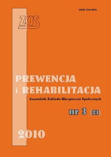 Prewencja i rehabilitacja 3/2010