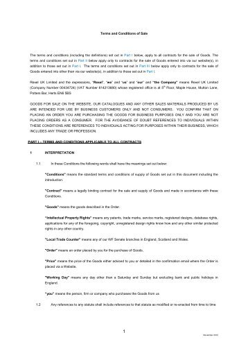 Newey & Eyre Websites Terms and Conditions of Trading - WF Senate