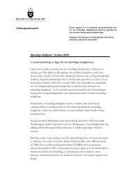 1. Sammanfattning av läget för de mänskliga rättigheterna Läget när ...