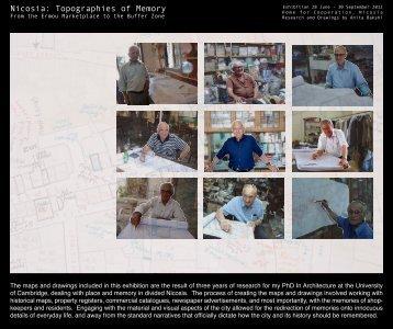 Nicosia: Topographies of Memory