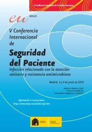 V Conferencia Internacional de Seguridad del Paciente