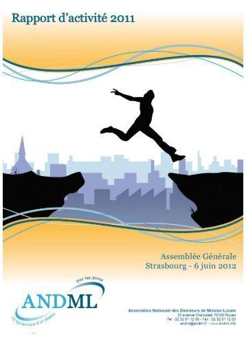 Rapport d'activité 2011 - ANDML