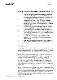PDF-dokument 125 KB - Investor Relations - Studsvik