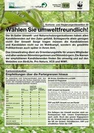 Empfehlungen - BirdLife St.Gallen