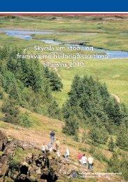 Skýrsla um stöðu og framkvæmd heilbrigðisáætlunar til ársins 2010 ...