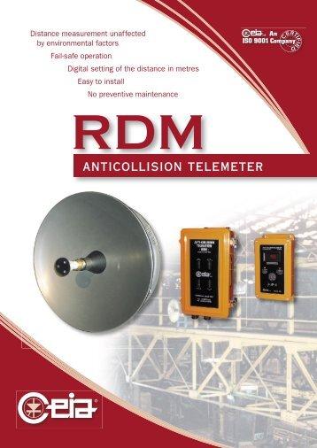 anticollision telemeter - CEIA S.p.A.