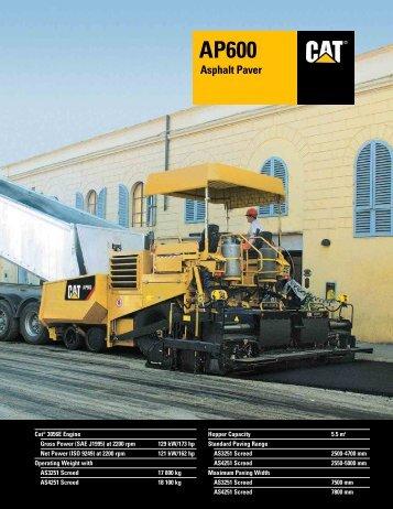 AP600 Asphalt Paver