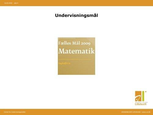 ElevIntra i matematikundervisningen - SkoleIntra