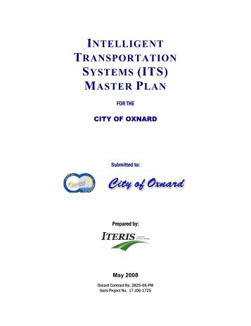 ITS Master Plan - Development Services - City of Oxnard