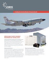 deployable flight incident recorder set (dfirs) 2100 - DRS Technologies