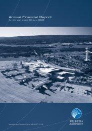 Perth Airport Financial Report 2005/06 (2.06 MB)